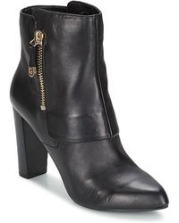 Guess Ivon Low Ankle Boots - Black