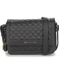 Mac Douglas Losange Shoulder Bag - Black
