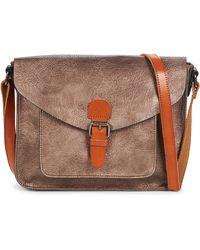 Nanucci 6711 Shoulder Bag - Brown