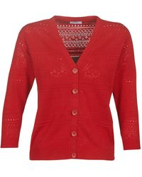 Betty London Lou Cardigans - Red
