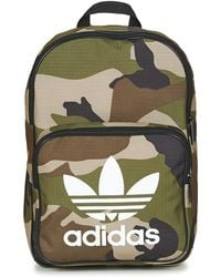 adidas Bp Classic Camo Women s Backpack In Green in Green for Men - Lyst fb586606bf300