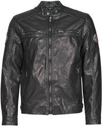 Petrol Industries Jacket Pu Biker Jacket - Black