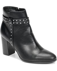 Moony Mood Ninou Low Ankle Boots - Black
