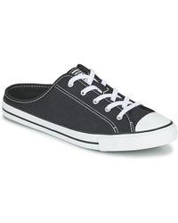 Converse Chuck Taylor All Star Dainty Mule Seasonal Colour Slip Mules / Casual Shoes - Black