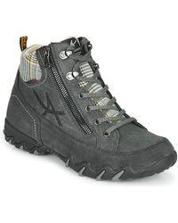 Allrounder By Mephisto Neblina Walking Boots - Grey