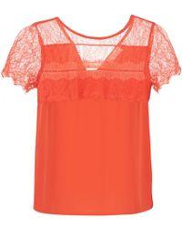 Moony Mood Gerdus Women's Blouse In Orange