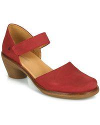 El Naturalista Aqua Court Shoes - Red