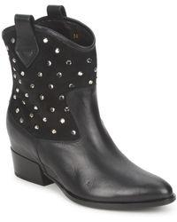 Alberto Gozzi - Gianna Women's Mid Boots In Black - Lyst
