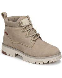 Levi's Levis Solvi Ankle Mid Boots - Natural