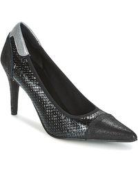 Elizabeth Stuart Lucor Court Shoes - Black