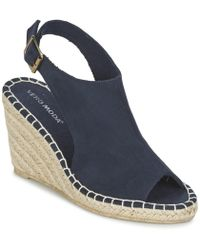 57717ccca39 Lucky Brand Reandra Espadrille Wedge Sandals in Natural - Lyst