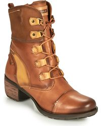 Pikolinos Le Mans 838 Low Ankle Boots - Brown