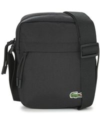 Lacoste Vertical Camera Bag - Black