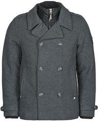 Petrol Industries Vramos Leather Jacket - Grey