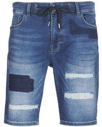 Desigual Duran Men's Shorts In Blue