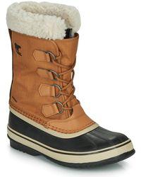 Sorel Winter Carnival Waterproof Boot For Winter - Black