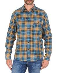 Dockers   Wrinkle Twill Long Sleeved Shirt   Lyst