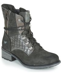 Mustang 1370602 Mid Boots - Grey