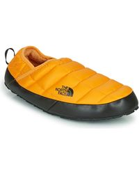 The North Face S Thermoball Traction Mule V 9 Summit Gold - Multicolour