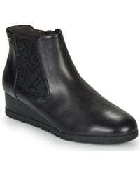 Stonefly Milly 19 Low Ankle Boots - Black