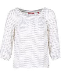 S.oliver - Fenude Women's Blouse In White - Lyst