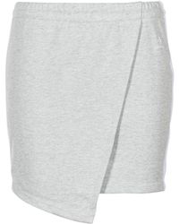 Converse Star Chevron Track Skirt Skirt - Grey