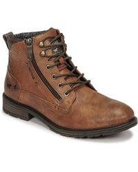 Mustang 4140501 Mid Boots - Brown