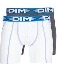 DIM 3d Flex Air Long X 3 Boxer Shorts - White