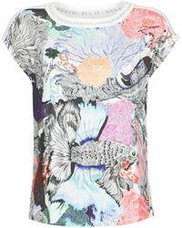 Desigual Viena T Shirt - Multicolour
