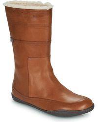 Camper Peu Cami High Boots - Brown