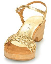 Unisa Ilobi Sandals - Metallic