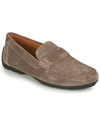 Geox U Moner A Loafers / Casual Shoes - Natural