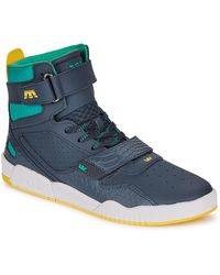 Supra Breaker Men's Shoes (high-top Trainers) In Blue