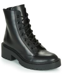 KENZO Pike Low Ankle Boots - Black
