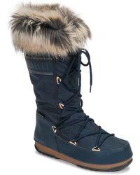 Moon Boot Monaco Wp 2 Snow Boots - Blue