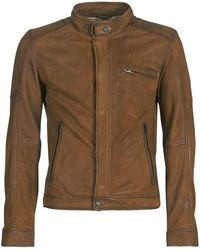 Oakwood Lord Leather Jacket - Brown