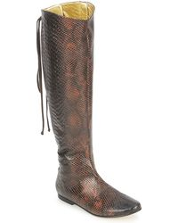 French Sole - Prince High Boots - Lyst
