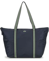 Lacoste Jeanne Large Shopper Bag - Blue