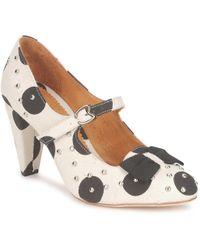 Maloles Clarita Heels - White