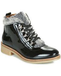 André Brise Mid Boots - Black