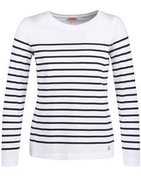 Armor Lux Yaril Long Sleeve T-shirt - White
