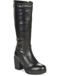 Xti Bolea High Boots - Black