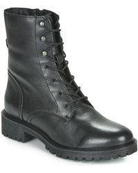 Geox D Hoara Low Ankle Boots - Black