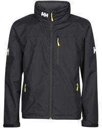 Helly Hansen Crew Hooded Jacket - Black