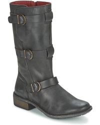 Kickers Growup High Boots - Black