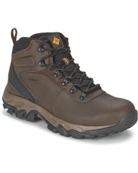 Columbia Newton Ridge Plus Ii Waterproof Walking Boots - Brown