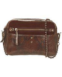 Petite Mendigote Bill Shoulder Bag - Natural