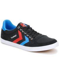 Hummel Ten Star Low Canvas Shoes (trainers) - Black