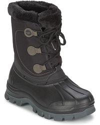 Hi-Tec Cornice Womens Snow Boots - Black