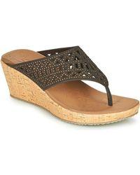 Skechers Beverlee Summer Visit Mules / Casual Shoes - Brown